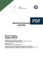 Manual MD5700