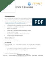 SAS Programming 1_Essentials_Outline - Copy