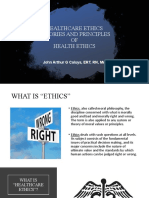 HEALTHCARE ETHICS week 1 lecture