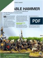 Portable Hammer Wargames