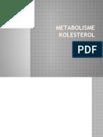 METABOLISME KOLESTEROL