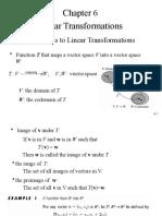 linch6 Linear Transformation.
