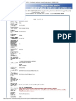 UPSC - Candidate's Application Details (Registration-Id_ 12000610185)