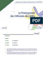 Financement des véhicules de loisir