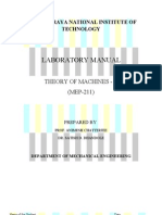 Theory of Machine Practicals