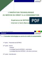 L'innovation technologique au service du crédit à la consommation