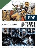 Novedades Yermo Ediciones y Arechi Manga Junio de 2020