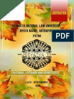 CNLU legal aid FEST BROCHURE