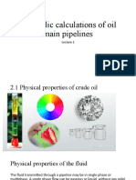 TSHF_lecture 02-03 Hydraulic calculations of oil main pipelines