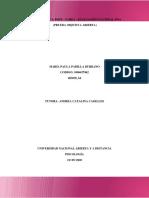 Tarea – Evaluación Nacional POA.