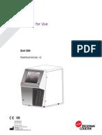 DxH 500 User Manual