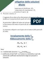 Proprietà colligative - DeltaG-Keq
