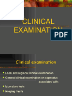 I - Oral and Maxillofacial Examination