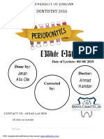 27. Periodontology SHEET