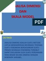 8 - 8 Nop 10 Analisa Dimensi Dan Skala Model