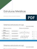 Aula 08 - Estruturas metálicas