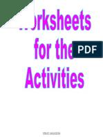 Activities Senses