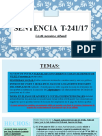 Sentencia  t-241