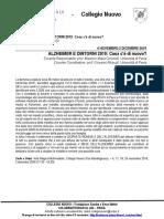 ADE  Alzheimer 2019 - Collegio Nuovo UniPV
