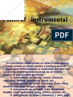 Timbru muzical instrumental