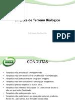 Slide Limpeza terreno biologico Innap iris