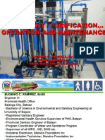 40 hrs seminar for water refilling station maintenance and operationl