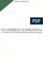 Marco Bolzani, Gli Andreoli di Mirandola e i 'Concerti Popolari' milanesi (1877-1887)