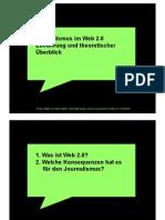 Journalismus im Web 2.0 (2007)