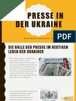 Die Presse in der Ukraine