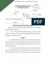 Complaint - Berry v. Intertape