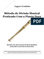 Método de Divisão Musical - Praticado Com a Flauta Doce