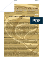 To ChinKY-CancerAnswers Kidney Cancer Treatment 130710