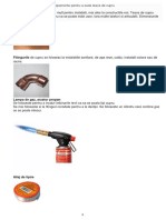 Echipamente pentru lipirea tevilor de cupru 1