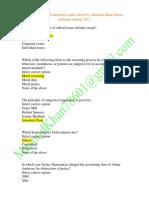 Business Ethics - MGT610 Spring 2012 Mid Term Quiz.pdf