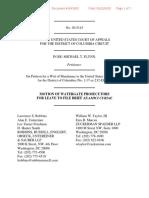 Watergate Prosecutors submit brief