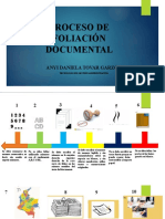 PROCESO DE FOLIACIÓN DOCUMENTAL
