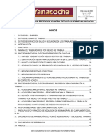 PLAN PARA LA VIGILANCIA PREVENCIÓN Y CONTROL DE COVID-19 EN MINERA YANACOCHA