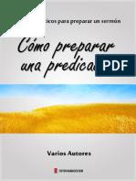 COMO PREPARAR UNA PREDICACION. VARIOS AUTORES.pdf