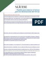 Formulario IVA