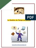45562612 La Gestion Du Temps Au Bureau