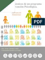 Elementos Técnicos de Un Programa de Intervención Psicológica