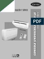 42ls012-072 Piso-Techo Evaporador