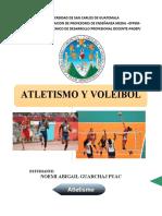 ATLETISMO Y VOLEIBOL