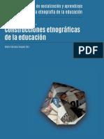 Construcciones etnográficas en la educacion