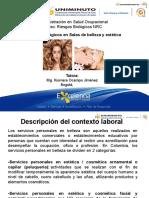 AGENTES BIOLÓGICOS EN SALAS DE BELLEZAESTÉTICATRATAMIENTOS CORPOALES Y MODIFICACIONES CORPORALES