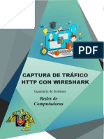 CAPTURA DE TRÁFICO HTTP CON WIRESHARK