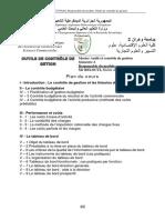 Cours Outils de contrôle de gestion Master ACG S2