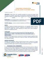 SLIP VIDA GRUPO FAMILIAR COFINAL CONTAC CENTER 2020-2021