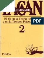 Lacan 1954-55 Seminario 2