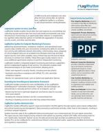 Log Collector Software Datasheet